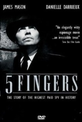5 fingers (poster)