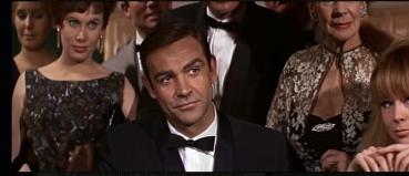 Bond at casino table