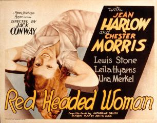 red-headed-woman poster